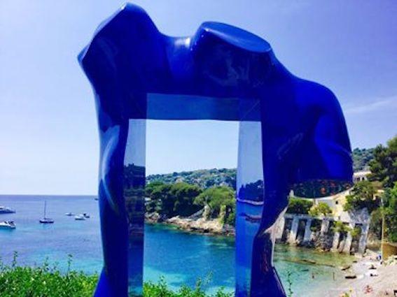 Kirlian - Femme bleue/StJeanCapFerrat