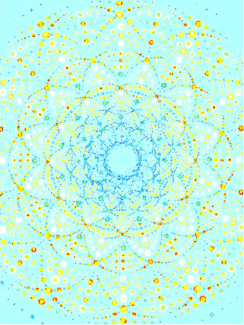 Kirlian - Sweet Mandala Blue
