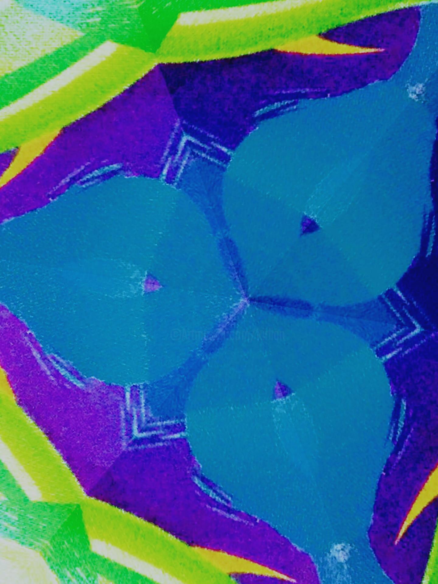 Kirlian - Blue Folia