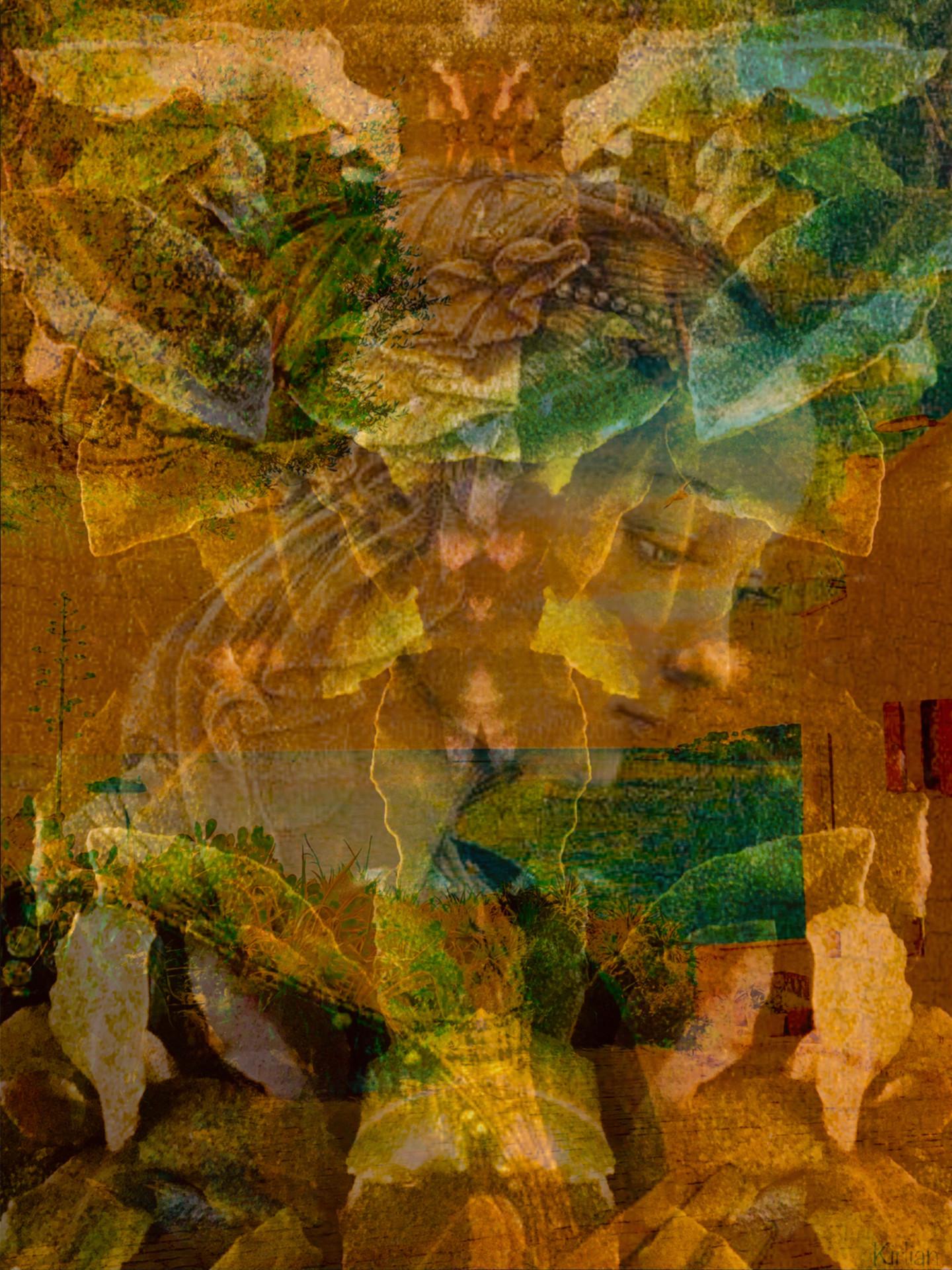 Kirlian - Fleur vénitienne