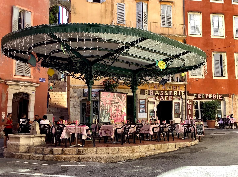 Kirlian - « Grasse,Place de la Poissonerie»