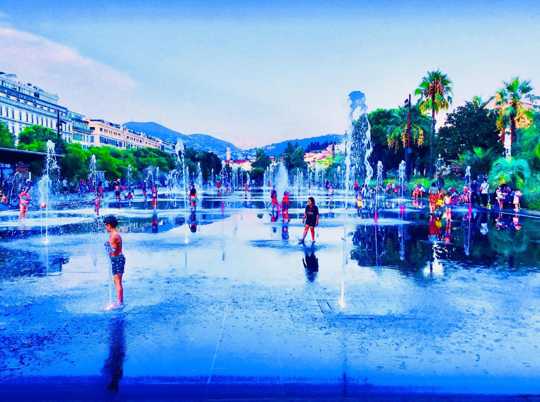 Kirlian - Blue Promenade/ Nice in Blue