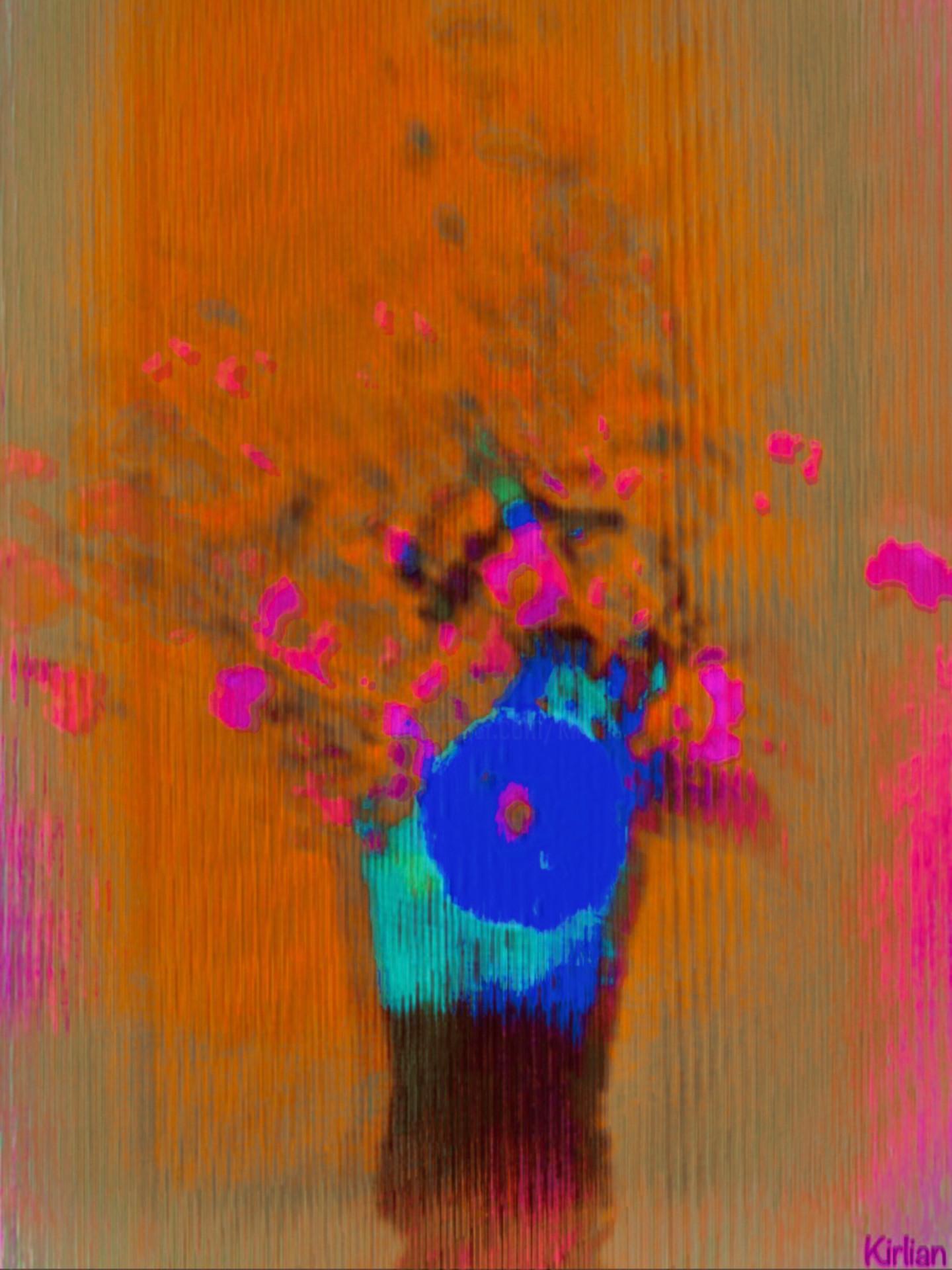 Kirlian - Flowers ( Hommage à Odilon Redon)