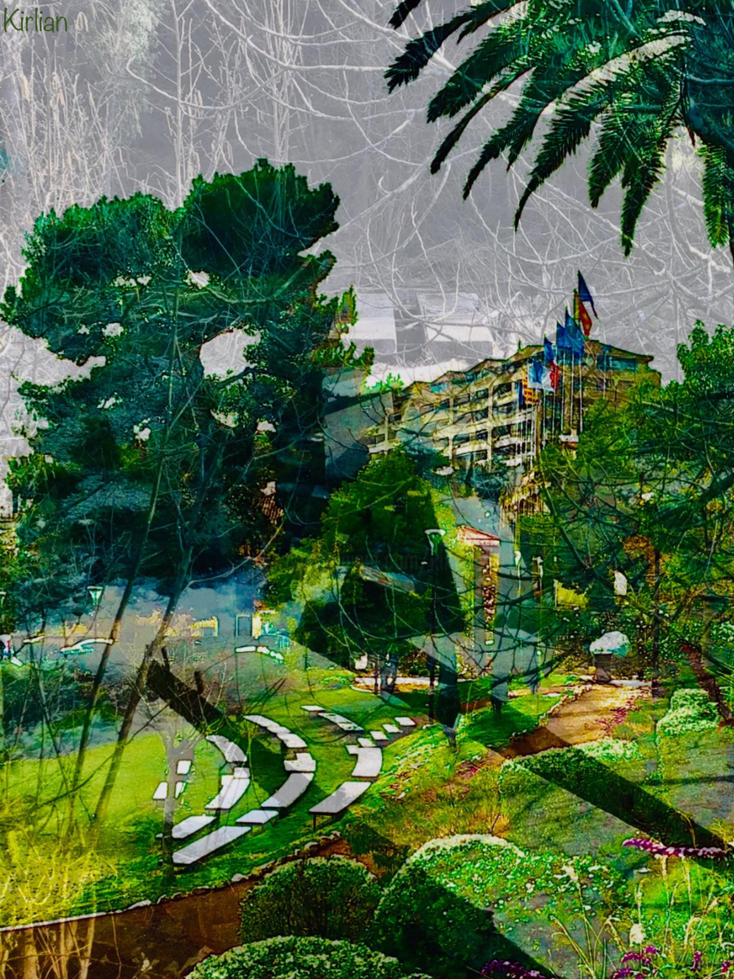 Kirlian - Grasse, le Jardin des Plantes