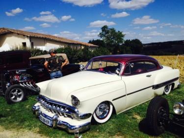 Vintage car à Maignaut-Tauzia
