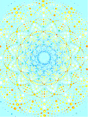 Sweet Mandala Blue