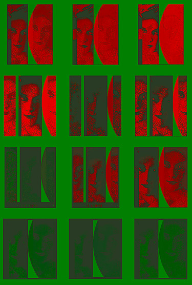 Faces/ Red'n'Green