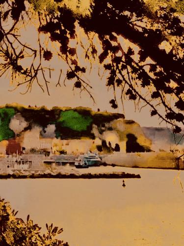 Nice, Le Port et la Colline du Château