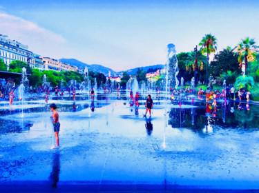Blue Promenade/ Nice in Blue